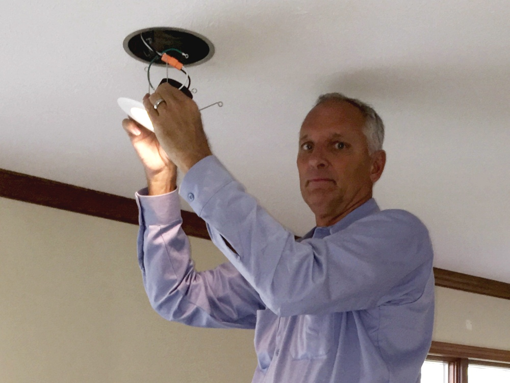 Installing LED Lights in the ceiling